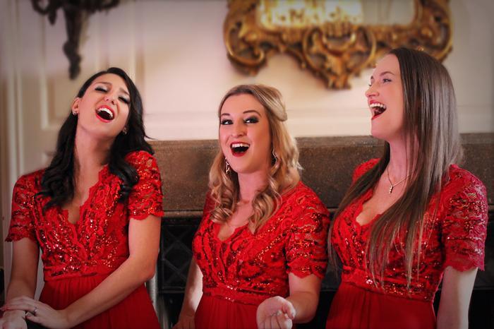 5. Festive Female trio