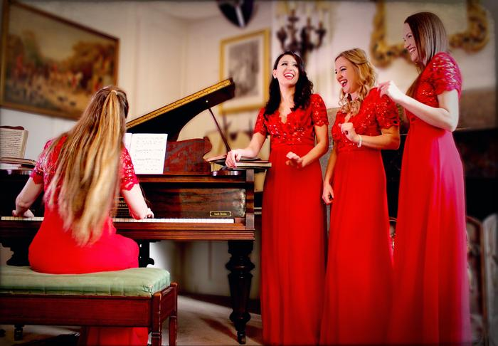 8. The Noelles, four part harmony group
