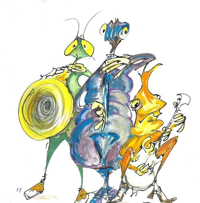 3. The Ugly Bug Ragtime Three
