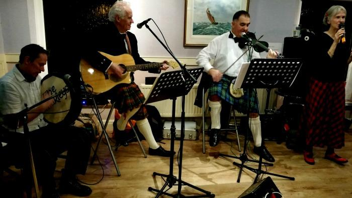 3. THE OMARLEYS ON BURNS NIGHT