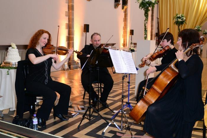 1. The Quartet - Scotlands String Quartet