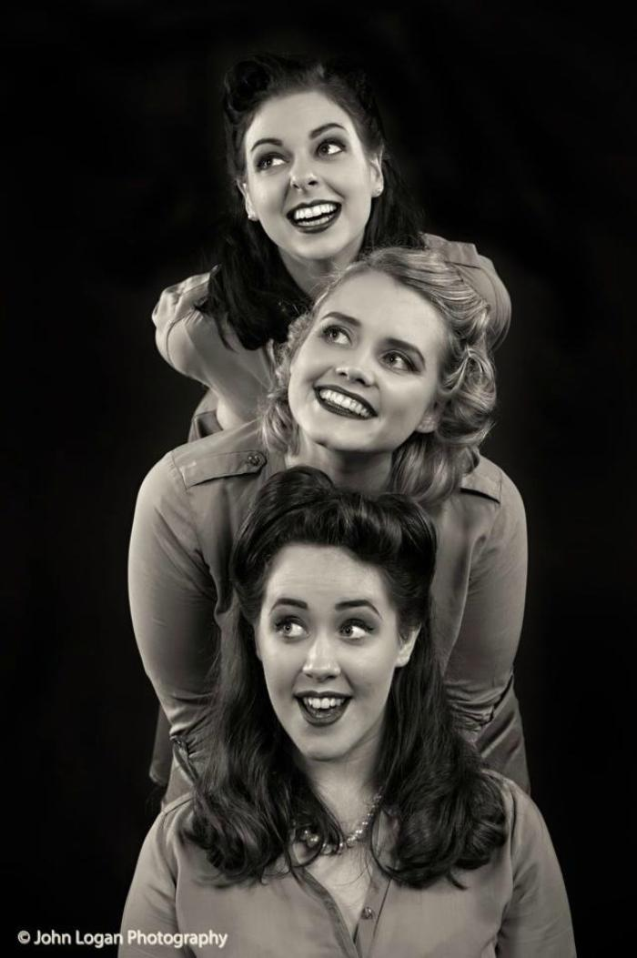 2. The Ragtime Dolls Andrews Sisters