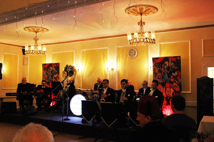 1. Performing at The Marsham Court Hotel, Bournemouth.