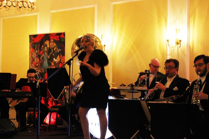 3. Kate Skellern performing with The Red Fez Orchestra