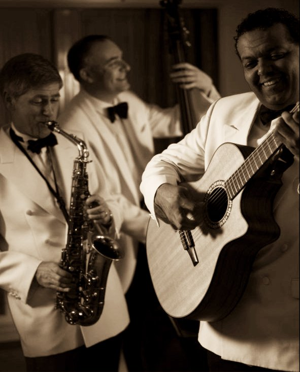The Ritz Trio : photo : Ritz Trio Performing On Royal Yacht Britannia