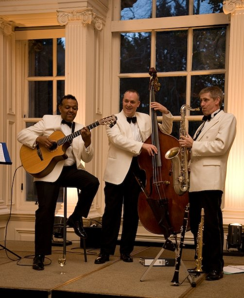 The Ritz Trio : photo : Performing at Hopetoun House