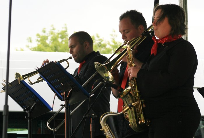 The Soulutions : photo : The Brass Section