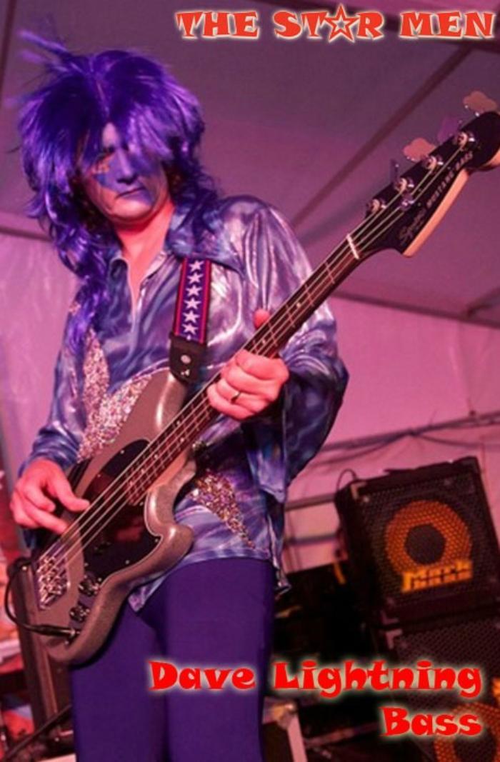 2. Dave Lightning - Bass