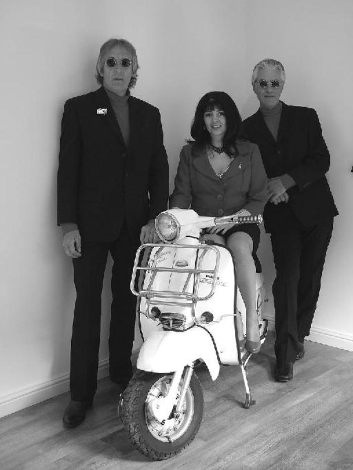 1. The Swinging 60s band - with Andys Lambretta