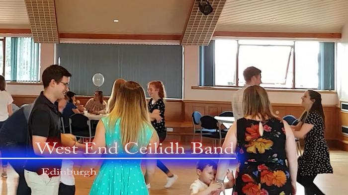 3. The West End Ceilidh Band