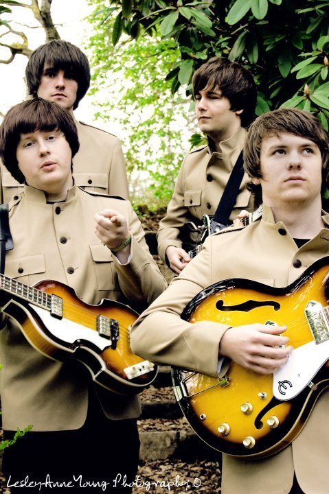 Thee Beatles : photo : Shea Stadium Jackets