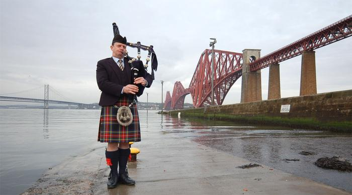 5. At the Forth Bridges for a Corporate Launch Event