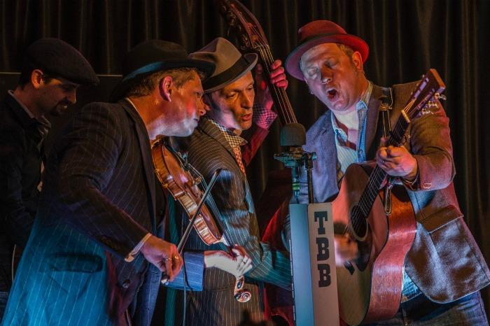 1. Thunderbridge Bluegrass Band