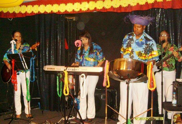 2. TRUE VYBEZ BAND & STEEL DRUM