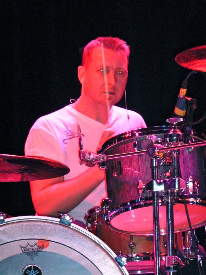 4. Andy as Larry Mullen Jnr