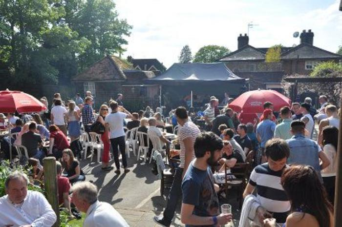 6. A sunny Day Beer Festival