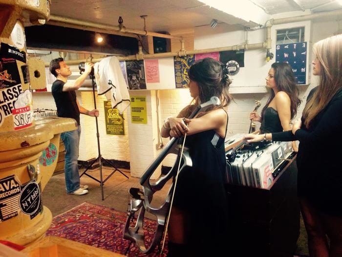 11. Vesper Electric String Quartet Backstage