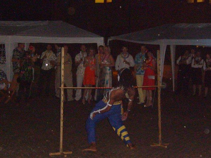 3. limbo dancer