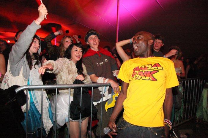 Yaaba Funk : photo : live at Shambala